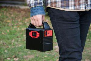 Générateur solaire portable avec panneau solaire pliable