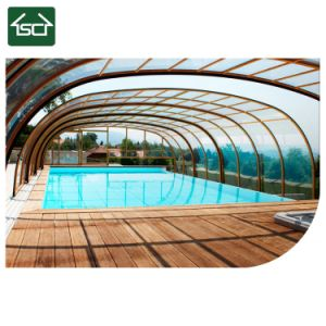 De Dekking van het Scherm van het Glas van de pool voor de Dekking van de Pool met Uitstekende kwaliteit in China