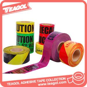 Non-Adhesive安全使い捨て可能な注意の警告テープ