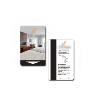 Kundenspezifische kontaktloses RFID intelligentes NFC Hotel-Schlüsselkarte des Drucken-