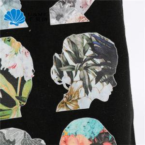 Impressão Digital Sublimação Promocionais Mulher tela preta Sacola grande de algodão