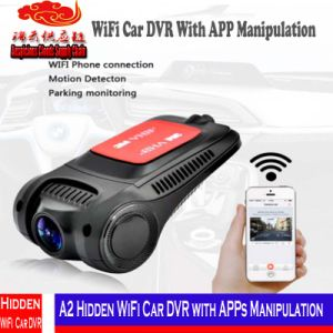 Coche ocultado A2 DVR de WiFi con la manipulación de Apps