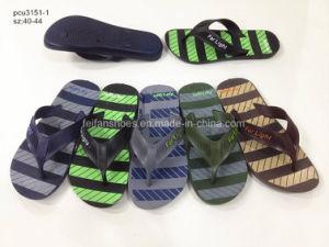 Hotsale мужчин дышащий тапочки ПВХ сандалии Шлепанцы (YG828-24)