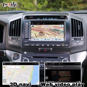 De androïde GPS Doos van het Systeem van de Navigatie voor Kern enz. van de Vierling van de Interface van de Kruiser LC200 van het Land van Toyota de Video