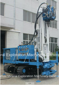 Ydl-300dt de l'eau plate-forme de forage de puits avec levier multifonction hydraulique complet de la profondeur à 400m