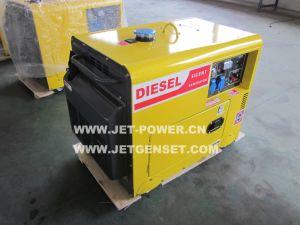 De draagbare Diesel van de Generator van de Macht Mini5kVA Stille Prijs van de Generator