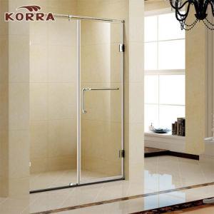 Scharnier-Dusche-Gehäuse-ausgeglichenes Glas in der Qualität