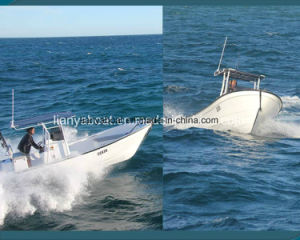 Liya 14-25 pés dos barcos de pesca de fibra de vidro Panga barco para venda