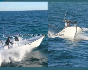 Liya販売のためのボート14-25フィートのガラス繊維の漁船のパンガ刀の