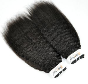 Indien-verworrenes gerades unverarbeitetes Jungfrau-Haar für persönlichen Gebrauch (Grad 9A)