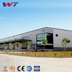 Galpón Industrial construcción prefabricada Diseño Estructura de acero de gran taller de almacén