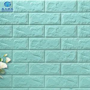 Le papier peint PE mousse Wallpapers brique 3D de conception 3D'autocollant mural
