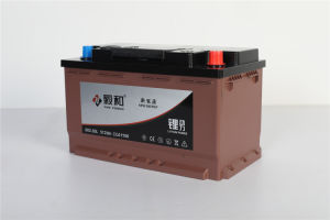 batteria 80ah/82ah 082-20 di arresto di inizio dell'automobile del litio 12V