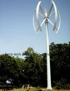 Alta de 10kw Effeciency hojas curvadas Aerogenerador de Eje Vertical