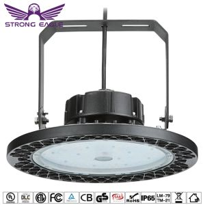 Comercial Industrial IP65 OVNI Highbay Dispositivo de luz LED para almacén