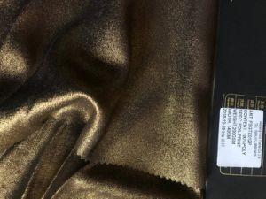 2019 Nouveau tissu avec l'impression d'aluminium