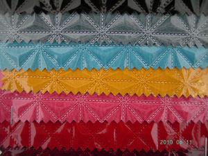 PU/couro de PVC para materiais da Sapata