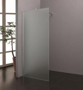 Casa de Banho simples moldura de vidro temperado 8 mm / Chuveiro obscura da Tela