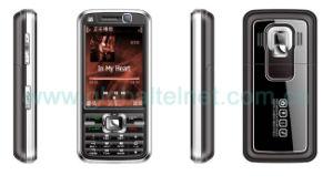 3.0 Tri-Band duplo SIM TV Dual Standby Celular (TN700)