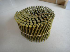 2,5 mm X 65mm tige torsadée pour la fabrication de palettes de clou de la bobine
