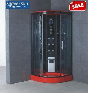 Cabina de ducha/aseo con ducha de vapor y ducha/baño de vapor (86S01-B).