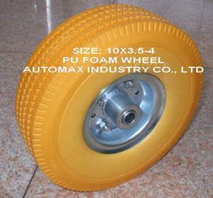 WheelbarrowのためのPU Foam Wheel