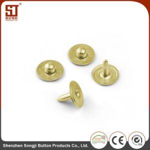 ズボンのためのカスタム個々の円形の金属の熊手のスナップボタン