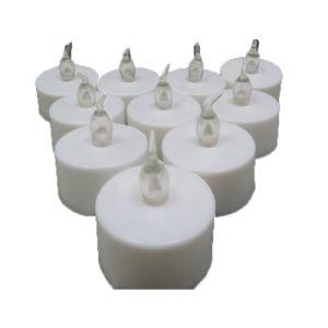 Decoração Natal/Luz de casamento branco Tealight perfumada tipo vela decorativa