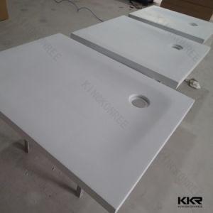 Kkrの衛生製品の現代固体表面のシャワーの皿(171123)