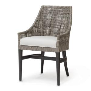Mimbre tejido Rattan modernos sillones tapizados Silla de Comedor ...