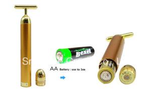 Oro 24k t la energía de forma Beauty Bar se enfrentan a levantar la máquina
