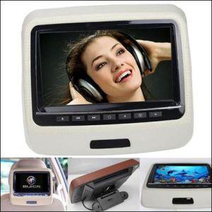 9 인치 휴대용 머리 받침 DVD 모니터