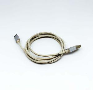 Тип USB Micro-USB и мобильного телефона используйте провод кабеля шнур питания