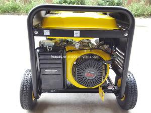 5.0kw de elektrische Wielen van het Begin & het p-Type van Handvat de Draagbare Generator van de Benzine