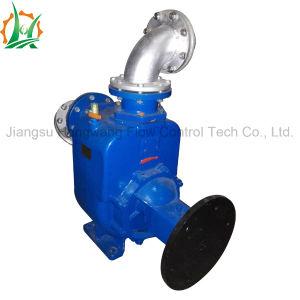 A elevada eficiência desidratação de lamas de depuração de escorva automática da bomba de Reboque de gasóleo