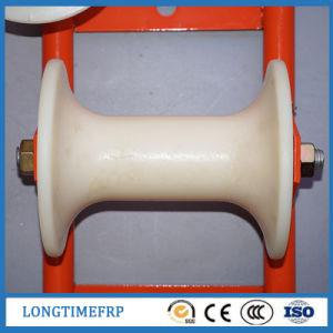 Rullo d'acciaio della puleggia del cavo della puleggia di nylon elettrica del cavo