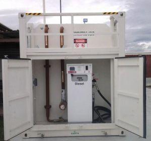 20FTか40FTのディーゼル記憶の自己はオーストラリアにエクスポートされた燃料タンクをBunded