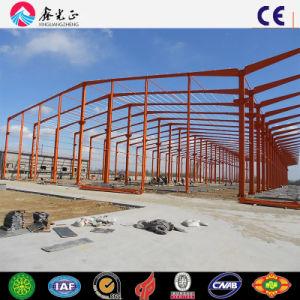 Estructura de acero Industrial prefabricados de acero de almacén derramada (P345B/P235B)