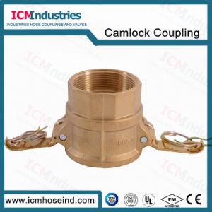 Accoppiamento d'ottone forgiato dell'adattatore del Camlock/Camlock per il tubo flessibile dell'acqua