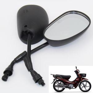 Ww-7511 10mm Motorrad-Rückseiten-Rear-View seitlicher hinterer Spiegel für Tbt100/Dy100/Wave110/Splender