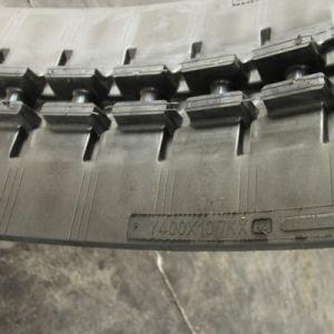 A Yanmar Vio40 Vio40CR esteiras de borracha partes separadas de 400x107x46
