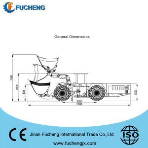 tipo caricatore sotterraneo della rotella 2 m3 di LHD per l'estrazione mineraria con il motore di Deutz con il migliore prezzo