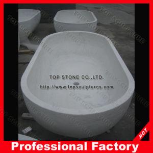 Bathのための支えがないBathroom Tub Granite Marble Bathtub
