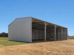 Faible coût de l'entrepôt légère en acier préfabriqués