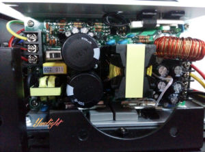 セリウムRoHSと任意選択広州Yuelight 15rのビーム点の移動ヘッドライト3in1 330With350W