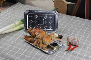 Conteneur d'aluminium à usage unique Boîte à lunch d'aluminium contenant de l'aviation