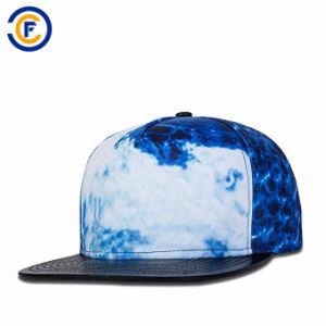新しいデザイン昇華プリント調節可能な男女兼用の野球帽の帽子は帽子を遊ばす