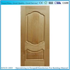 HDF moulé avec la peau de la porte relevée/ligne convexe