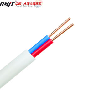 Fio de cobre Liso Fio Elétrico de PVC 2,5mm2 fio plana