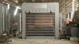 Mehrschichtige heiße Presse-Maschine für Furnierholz-Laminierung